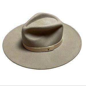 Carly Jean Los Angeles Benton Felt Wren Hat